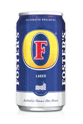 Foster's Lager Can 33cl